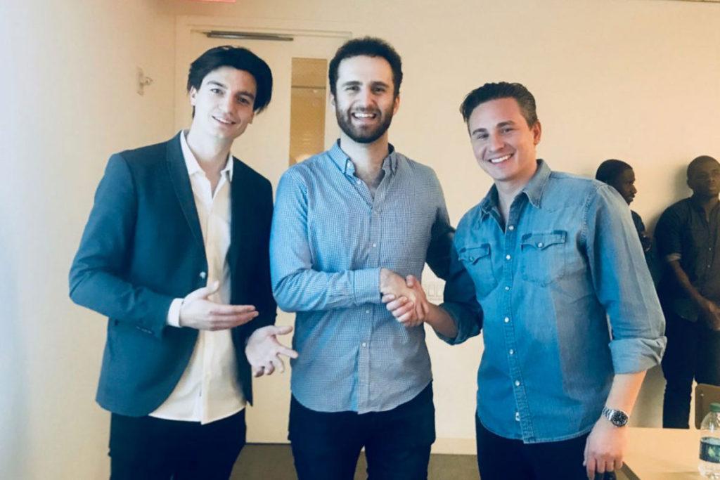Oliver und Felix bei der Startup Boost Investor Night