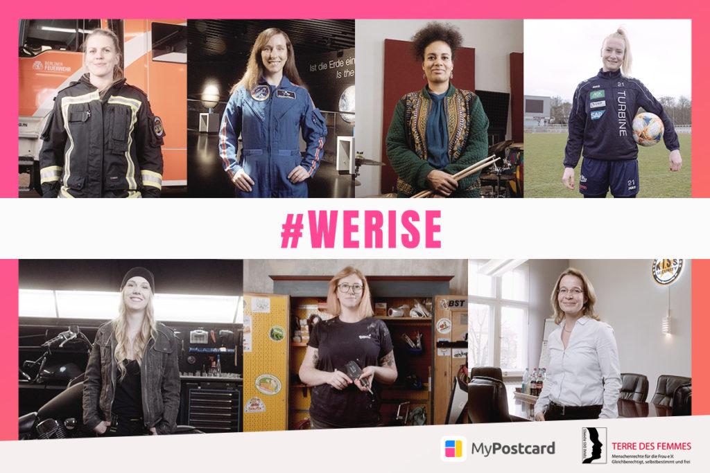werise Frauen Porträt