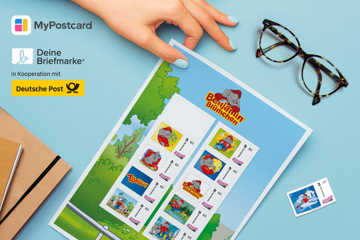Briefmarke Hand Bogen
