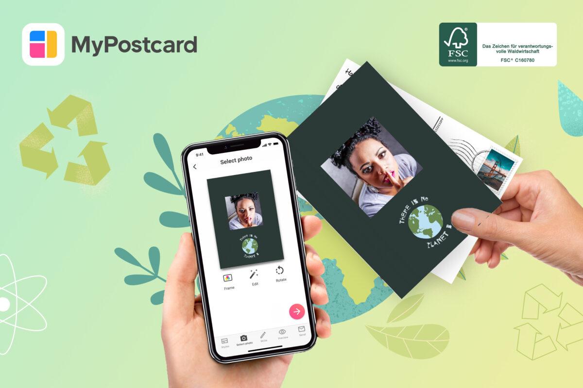 FSC® Hand Handy Postkarte