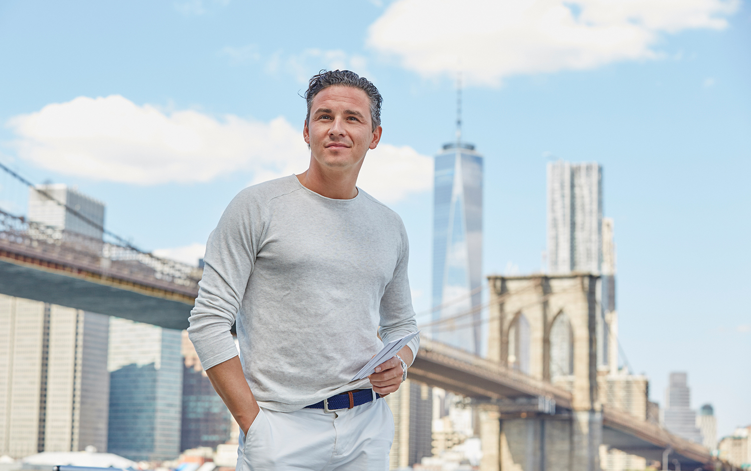 MyPostcard.com CEO - Oliver Kray in New York